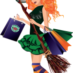 Witches & Broomsticks Witch